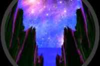 Asteroid Trip Mandelbulb fractal screenshot