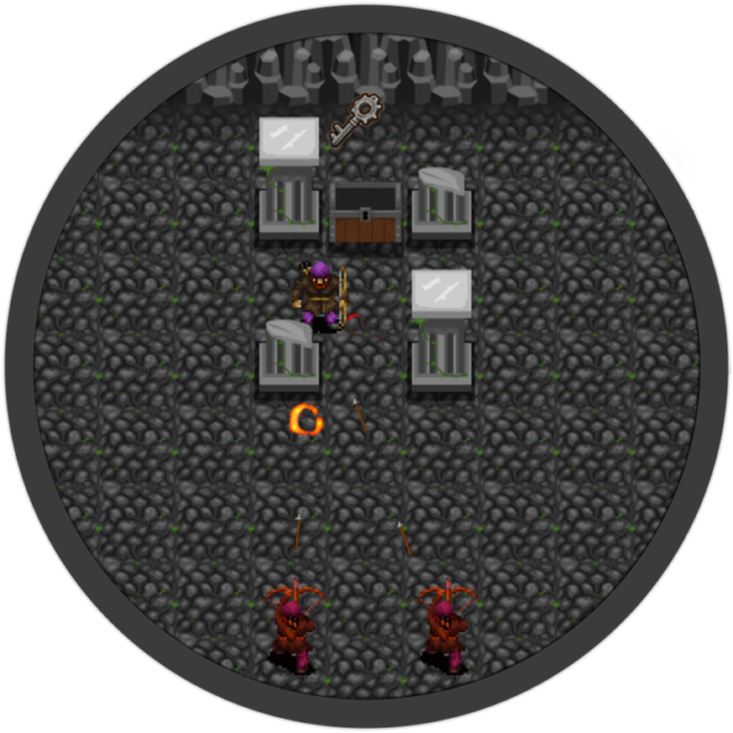 Dungeon Of Doom GameMaker screenshot