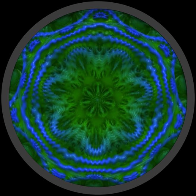Fractal Mandala Mandelbulb fractal screenshot