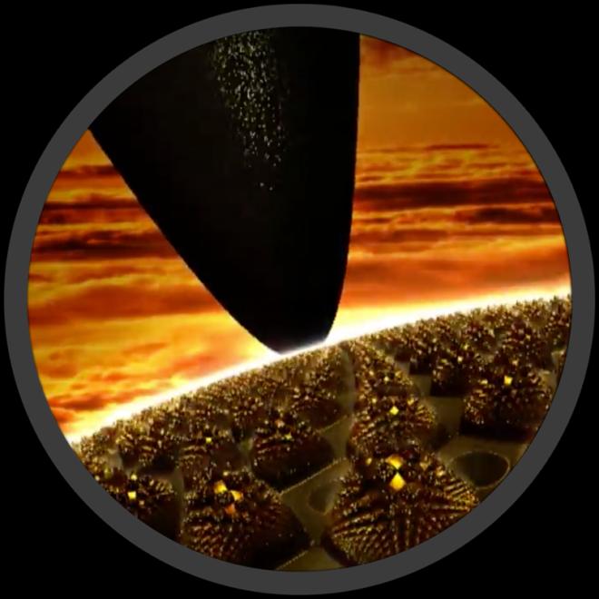 Golden Transmutation Fractal Mandelbulb