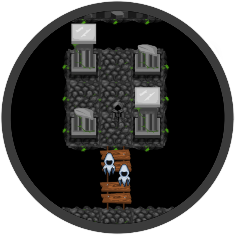 Haunted Dungeons GameMaker screenshot