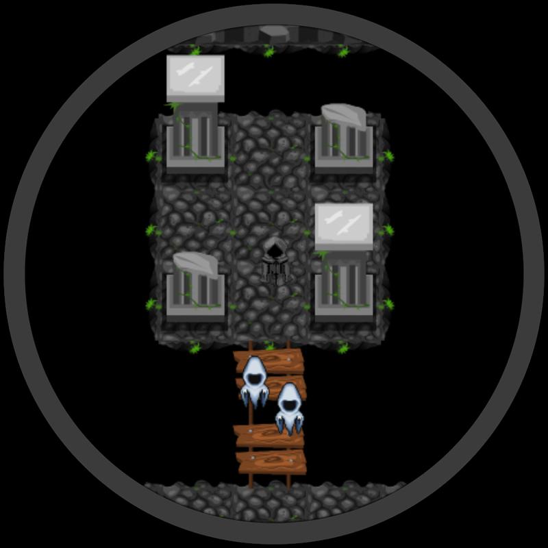 Haunted Dungeons GameMaker screenshot