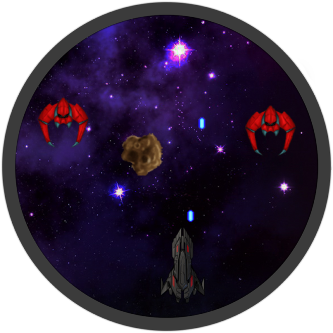 Space Game GameMaker screenshot