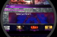The Reaction Website screenshot