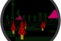 Trees And Pyramids - Quartz Composer Visual