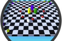 Roll a Ball Unity 3D game screenshot